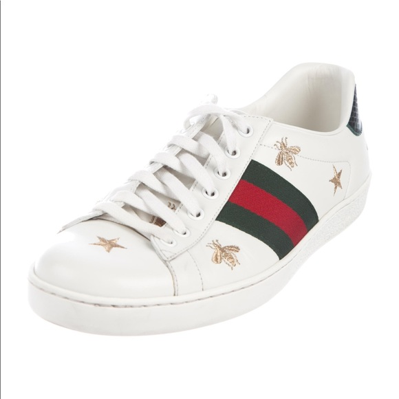 df058d96e32 Gucci Shoes - GUCCI White bee   star new Ace sneakers